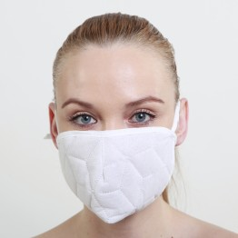 three-layer reusable face mask